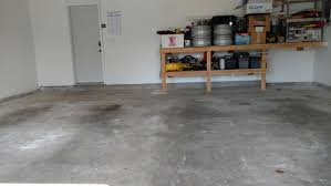stained concrete garage floor. Interesting Concrete Before Stained And Badly Pitted Garage Floor Throughout Concrete Floor C