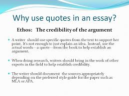 why use quotes in an essay whom do you trust why use quotes in  why use quotes in an essay