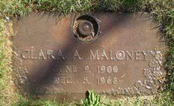 Clara Ackerman Maloney (1900-1968) - Find A Grave Memorial