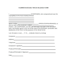 Liability Waiver Form Template Free Copyright Release Form Template