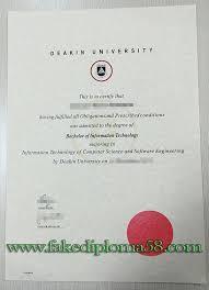 Sample Degree Certificates Of Universities Deakin University Degree Sample University Diploma Degree