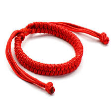 1PCS fashion <b>Polyester Kabbalah Red</b> / colorful <b>String Braided</b> ...
