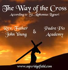 the way of the cross by padre pio academy