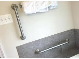 eye catching bathtub grab bars placement in handicap bar install ada bathroom height