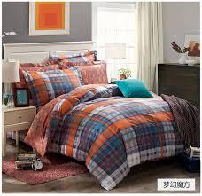 orange and blue comforter sets home remodel awesome orange silver grey bedding set king size queen quilt doona