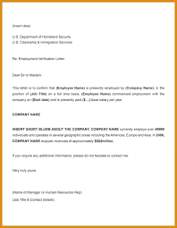 Employment Verification Letter And Salary Former Employee