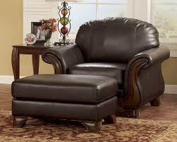 kelly old world wood trim faux leather