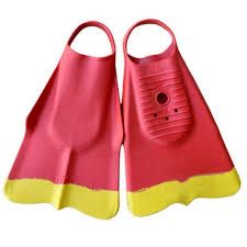 Dafin Red Yellow Swimfins Lifeguards Xxs Buy Online