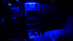 Chrysler 300c Interior Lights Blue Led Interior Light Chrysler 300c Youtube