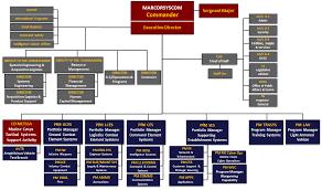 Ocio Org Chart Marine Corp Chain Of Command Chart Organization Of The