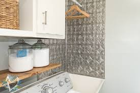 Utility Sink Backsplash Classy Laundry Room Makeover Day 48 Utility Sink Gets Some Love The