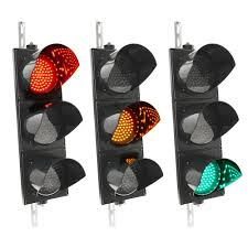 Traffic Light 3 Traffic Light For Indoor And Outdoor Ip65 Black 3 X 200mm 12