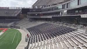 Cougar Field Seating Chart Chairback Seating At Tdecu Stadium Rateyourseats Com
