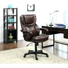 serta 43807 air executive office chair executive brown bonded leather big and tall office chair air