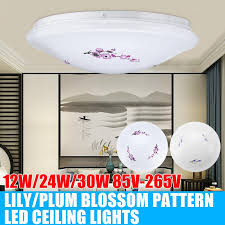 led ceiling light lamp ac85 265v 12w