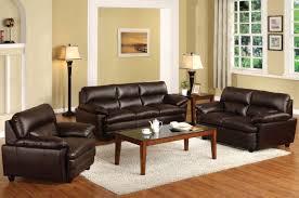 Leather Living Room Sets Plain Design Brown Leather Living Room Sets Strikingly Ideas