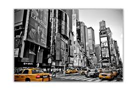 image is loading black and white new york city with yellow  on yellow wall art ebay with black and white new york city with yellow taxi s city poster art