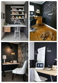 L 35 Functional Chalkboard Home Office Decor Ideas