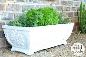 large cement planters. Diy Large Concrete Planters Cement Garden How To Paint 5 Round