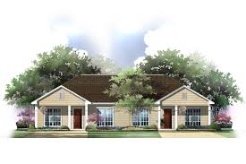 duplex house plans designed to accommodate two distinct family units