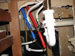 how to plumb a bathroom sink with pex ideas
