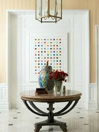 round table entryway entryway round table ideas