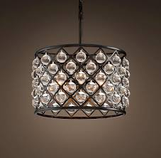 spencer clear small chandelier small
