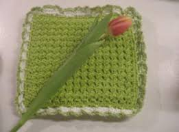 Crochet Potholder Patterns Inspiration Crunch Stitch Crochet Potholder Pattern FaveCrafts