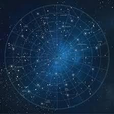 Constellation Sky Chart Constellation Star Chart Duvet Cover