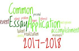 discuss an accomplishment event or realization that sparked a  2017 2018 common application essay prompts