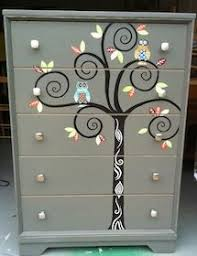 whimsy furniture. super cute for a kids room i might have to do this whimsy furniture unique handpainted could you