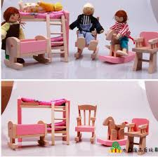 miniature dollhouse furniture for sale. 2017 hot sale wooden miniature dollhouse furniture toys pretend play set bedroom kitchen dinner room bathroom living in from for e