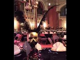 Masquerade Ball Table Decoration Ideas Magnificent Masquerade Party Decorating Ideas YouTube