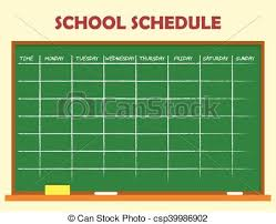 Design Schedule Template School Schedule Template Design