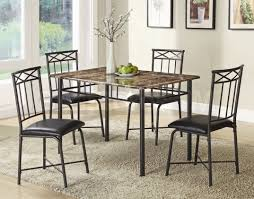 chair a metal dining room marble top table and chairs for small dining room with