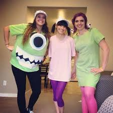 monsters and boo from monsters inc