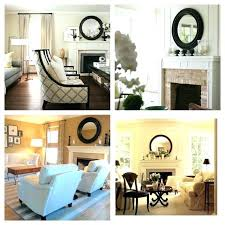 round mirror over fireplace mirror mirror on the wall 8 fireplace decorating ideas large wall fireplaces