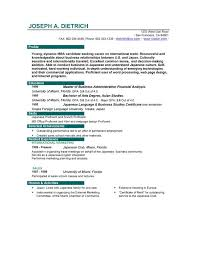 Job Resume Format Download Resume And Cover Letter Resume And