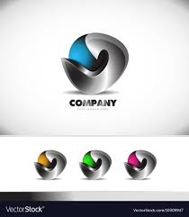 Best Corporate Logo Designs Abstract 3d Logo Design Corporate Business