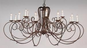 elegant 18 arm wrought iron chandelier