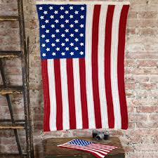 American Flag Crochet Pattern Classy American Pride Red Heart
