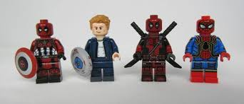 Minifigures Brick Lego Custom Dragon