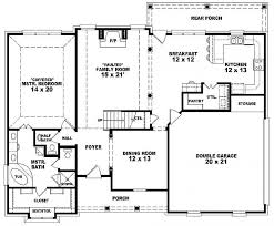 654133 one and a half story 3 bedroom 2 5 bath french