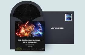 Free Star Wars Invitations Star Wars Online Invitations