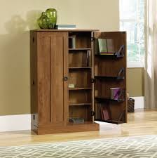 Wooden Storage Cabinets With Doors Furniture Sauder Storage Cabinet With Doors Fascinating Storage