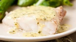 grouper with lemon basil cream sauce
