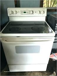 kenmore glass top stove flat good looking burner not working image u27