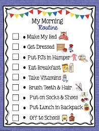This Routine Chart Saves My Sanity In The Mornings Finally