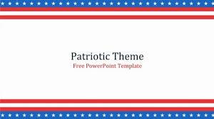 Patriotic Powerpoint Template Free