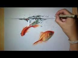 realistic koi fish drawing. Modren Drawing Realistic Koi Fish Drawing Color With